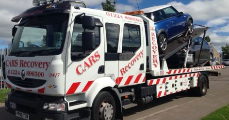 Cars Recovery Vehicle Recovery Aberdeen
